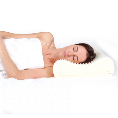 Wellness Pillow - Comfort of Memory Foam, Support of Traditional Foam